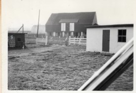1967 Bank Barn, corner of coup