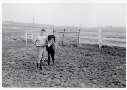 1967 Jack Linton with Horse
